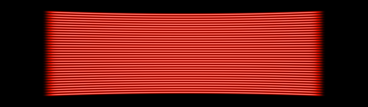 660nm (Red) 33 line multi-line laser projection