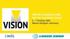 Vision Expo, World's leading trade fair for machine vision, October 5-7, Messe Stuttgart, Germany